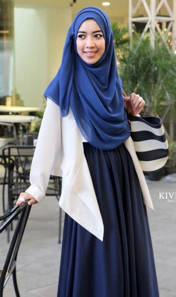 Baju Muslim Syari Modern Model Busana Muslim Wanita Terbaru Dengan Desain Trendy