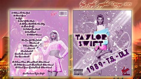 taylor swift 1989 album deluxe edition taylor swift 1989 deluxe edition music box art cover