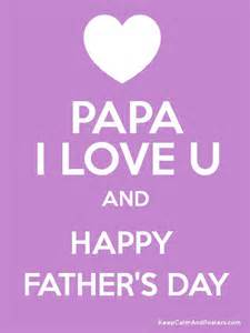 papa i u and happy s day poster
