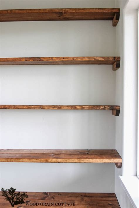 Diy Bedroom Shelves Diy Dining Room Open Shelving Decorative Storage Shelf