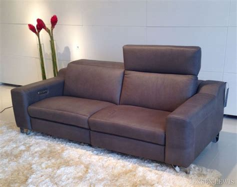contemporary leather recliner sofa modern leather sofa