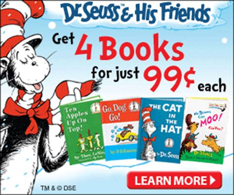 the you re dealt books dr seuss backpack plus 4 books just 3 96 shipped
