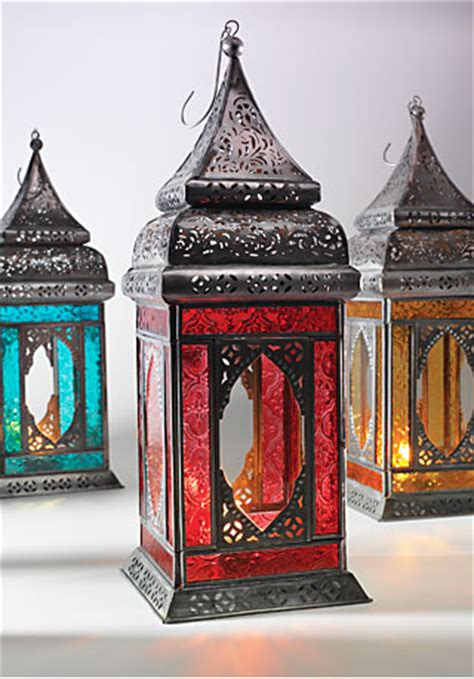 moroccan style large indian glass lantern moroccan style