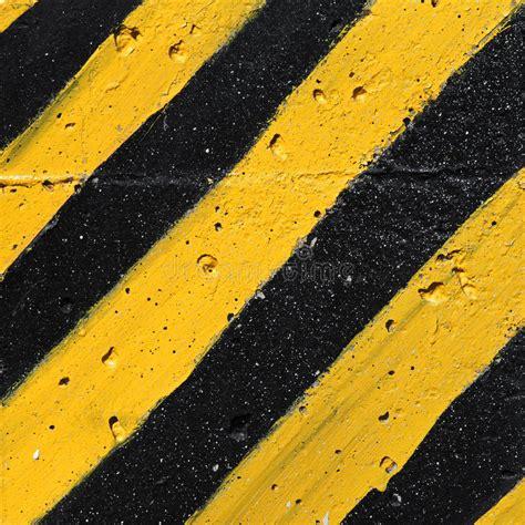 yellow warning pattern black and yellow striped caution pattern stock image