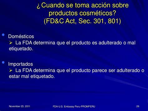 irc section 301 ingreso de cosm 233 ticos al mercado de los estados unidos