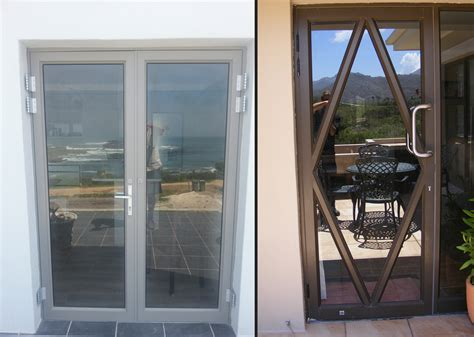 single hinged patio doors