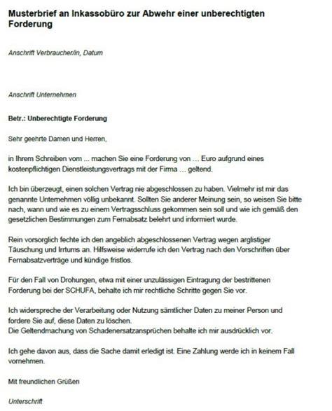 Musterbrief Inkasso Widerspruch Verbraucherzentrale Warnung Vor Fragw 252 Rdiger Inkassopost Abc Factoring Dortmundpfalz Express Pfalz Express