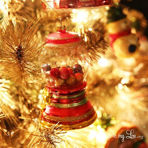 beautiful christmas tree   diy gold christmas tree tutorial skip   lou