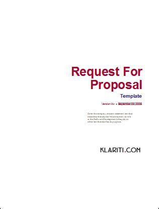 best of simple rfp template template