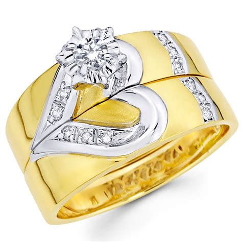 gold wedding rings for