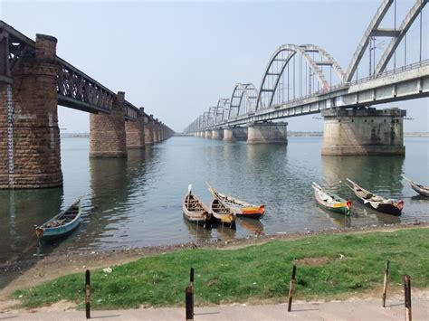 godavari railway bridge rajahmundry india travel forum indiamikecom