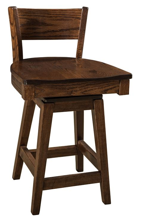 Amish Swivel Bar Stools by Mulligan Swivel Bar Stool From Dutchcrafters Amish Furniture
