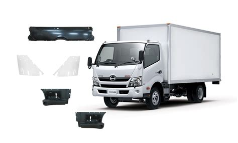 Spare Part Truck Hino hino truck parts 53814 37160 a0 corner panel made in