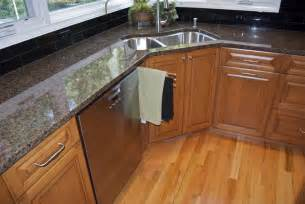 Corner Kitchen Sink Cabinets Impressive Corner Kitchen Cabinet Ideas With Futuristic Design Mykitcheninterior
