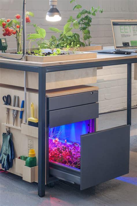 amazing desks amazing desk planter l desktoop vegetal desk l id lights