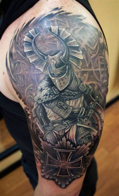 teutonic knight done by sean ambrose at arrows and embers