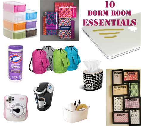 10 room essentials - Room Necessities