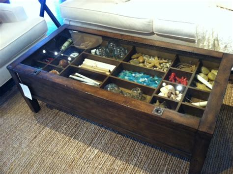 Shadow Box Coffee Table Coffee Table Like A Shadow Box To Show Your Collections Pictures