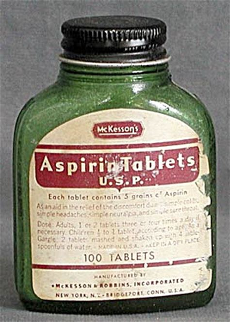 Mckesson Background Check Vintage Mckesson S Aspirin Tablets General At Silversnow Antiques And More