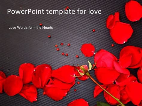 powerpoint template for love