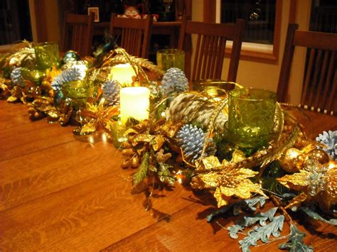 christmas decor images diy table centerpieces re use items you have around the