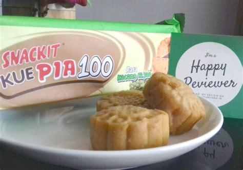 Kue Pia Kacang Hitam Spesial snackit kue pia 100 kacang hijau yukcoba in