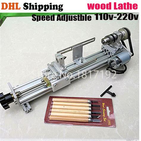 Mesin Bubut Mini Rakitan Diy 6 In 1 20 000rpm buy cc05 diy acrylic mini table saw polishing woodworking lathe cutting polisher saws at