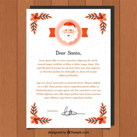 dear santa letter template images dear santa letter template for vector free