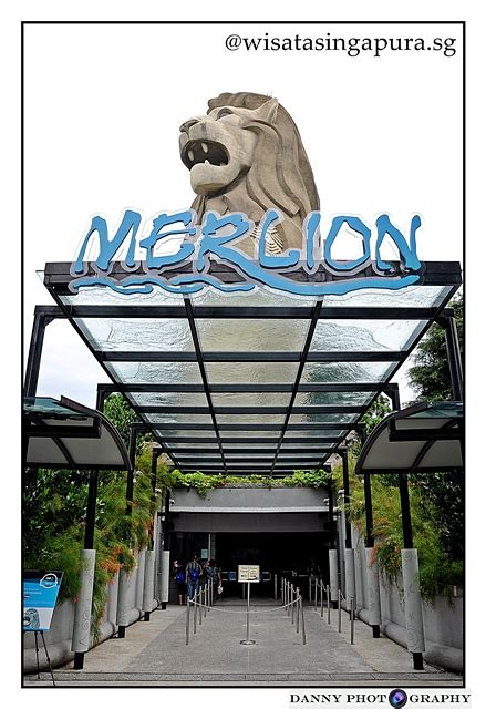 E Tiket Sentosa Merlion Tower Dewasa Anak the merlion wisata singapura