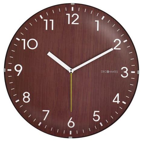 silent wall clock silent wooden wall clock bachelor on a budget
