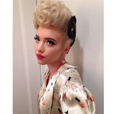 Pin Up Vintage Hairstyles by 7034 Best Rockabilly Hairstyles Images On