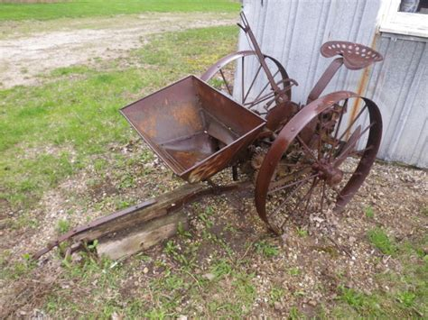antique potato planter machine ebay
