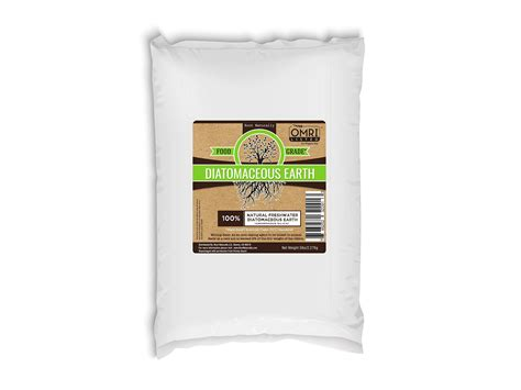 diatomaceous earth food grade omri listed  lb bed bugs buster