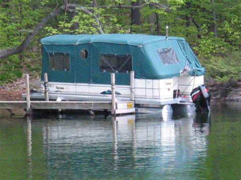 boat covers portage mi pontoon boat tent omg i m so getting one for mine my