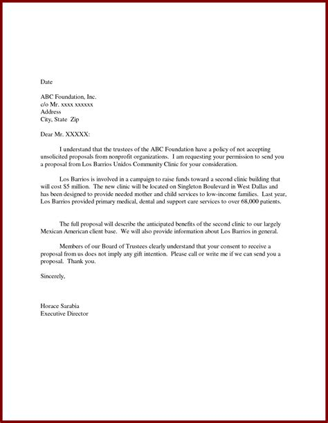 Application Letter Exle Unsolicited Cover Letter For Unsolicited Internship
