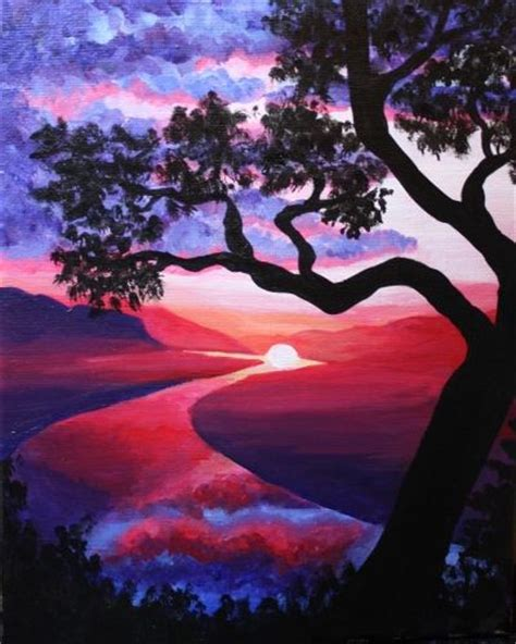 paint nite quinn ramini 546 best images about painted scenery on terry