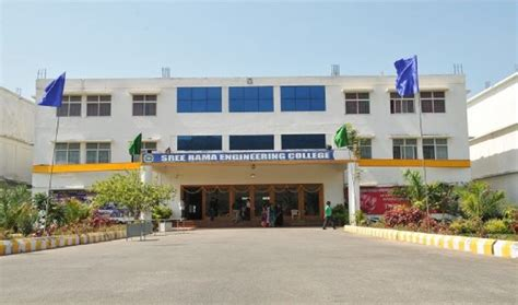 Gate Mba College Tirupati by Sree Rama Engineering College Srec Tirupati