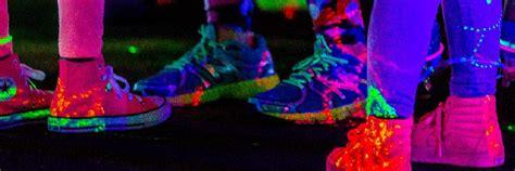 nwfcu foundation neon night glow run