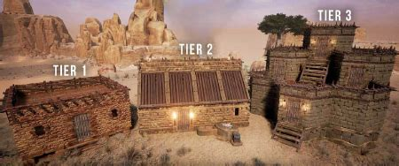 building official conan exiles wiki shaped fence designs