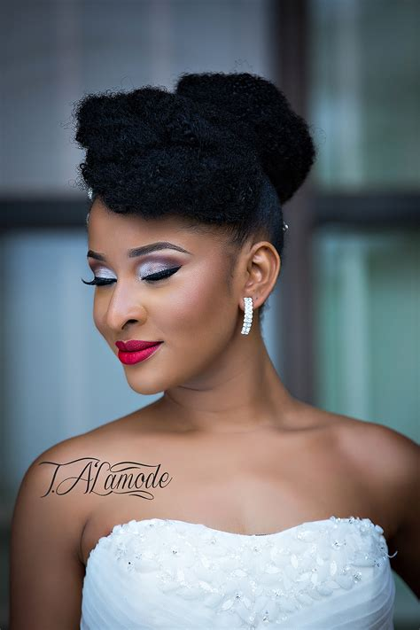 naija bridal hair styles striking natural hair looks for the 2015 bride t alamode
