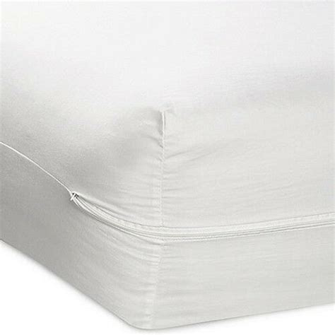queen size fabric zippered mattress cover  bed bug