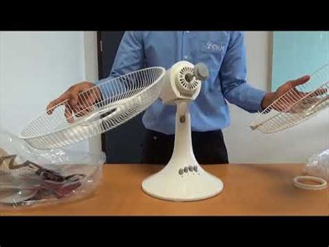Kipas Angin Miyako Desk Fan 5 menit memasang kipas angin turbo desk fan