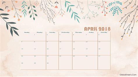 Calendario 2018 Aprile April 2018 Calendar Printable