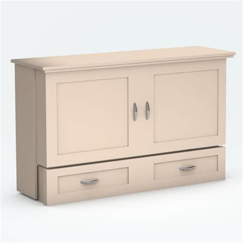 closed bed closed town country cabinet bed with antique white paint finish