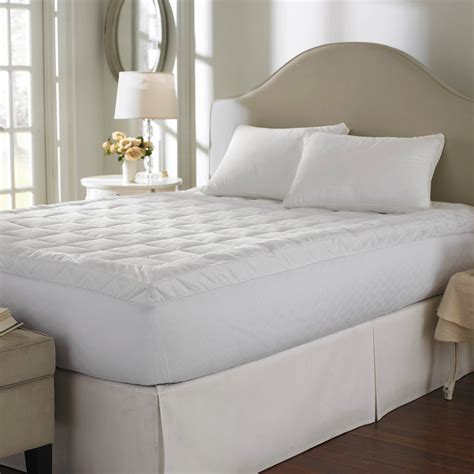 walmart bed topper dreamy nights fiberbed mattress topper walmart com