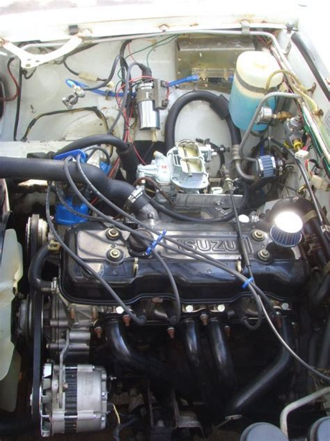 how do cars engines work 1979 chevrolet luv instrument cluster isuzu luv engine chevy luv