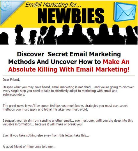 Plr Exclusive Marketing email marketing newbies plr ebook
