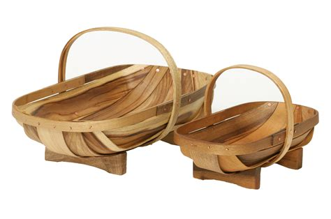 Gardeners Supply Trug Wooden Garden Trug 2 Sizes Available Or Buy The Set
