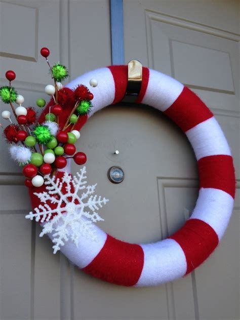 11 cute candy cane christmas crafts diy