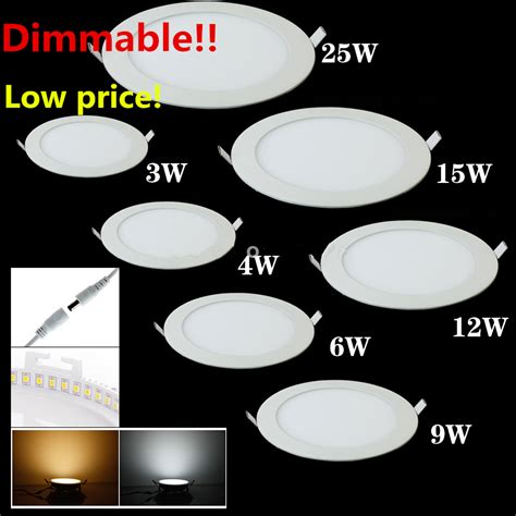Lu Downlight 25 Watt 25 watt led ceiling light recessed kitchen bathroom